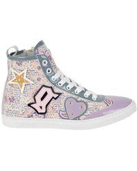 John Galliano Sneakers - Mehrfarbig