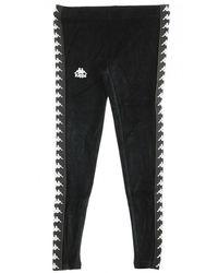 Kappa Pantalone Tuta Banda Ammu - Zwart