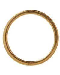 Maison Margiela Number Logo Single Earring - Geel