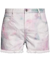 Étoile Isabel Marant High-waisted Denim Shorts - Meerkleurig