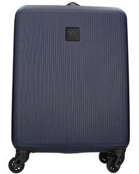 Y Not? Suitcase - Blau