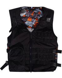 Alexander McQueen Vest With Pocket - Zwart