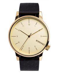 Komono Watch - Noir