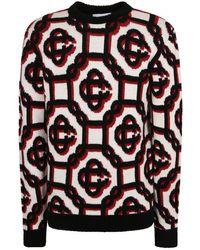 CASABLANCA Branded Sweater - Zwart