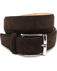 Crockett & Jones Cinturón - Marron