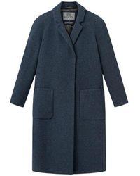 Brixtol Textiles Deb Coat - Blu
