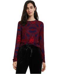 Desigual Sweater - Rood