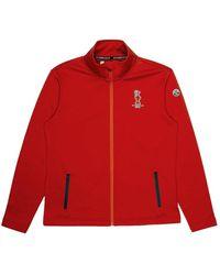 North Sails Full Zip Sweatshirt - Rood
