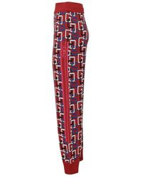 Gcds Trousers - Rosso