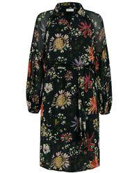 POM Amsterdam Dress Flower Love Sp6606 - Zwart