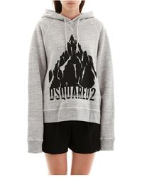 DSquared² Mountains Hoodie - Grijs