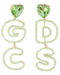 Gcds Orecchini - Groen