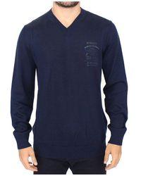 Ermanno Scervino - Wool Blend V-neck Pullover Sweater - Lyst