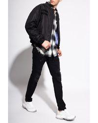 C.P. Company Distressed jeans Negro
