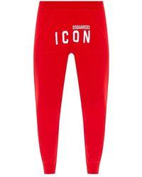 DSquared² Logo sweatpants - Rosso