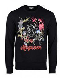 Armani Jeans - Skull Sweater - Lyst