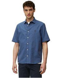 Marc O'polo Short-sleeve Shirt - Blauw