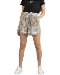 Pinko Shorts Beige - Neutro