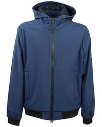 Refrigue Jacket With Hood - Blauw