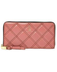 Marc Jacobs Continental Wallet - Rose