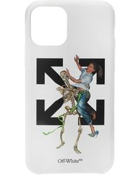 Off-White c/o Virgil Abloh Iphone 11 Pro-hoesje - Wit