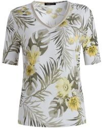 FRANK WALDER Shirt Wit 603440 - Grijs
