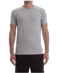 Calvin Klein Crew Hals T-shirt - Grijs