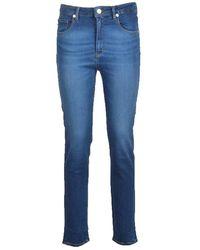 Love Moschino Trousers - Blauw