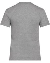 COMME DES GARÇONS PLAY T-Shirt with heart Gris