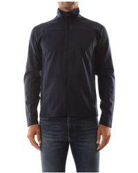 North Sails Full Zip Sweater - Blauw