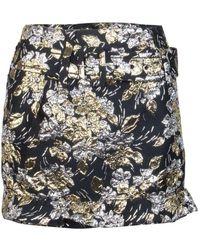 Prada Floral Skirt - Zwart