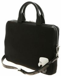 Karl Lagerfeld Laptop Sleeve with strap Negro