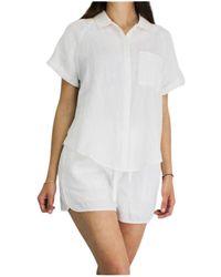 Ecoalf Camisa Shirt - Wit