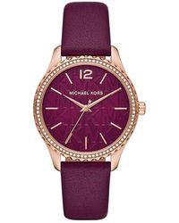 Michael Kors MK2926 Ladies Layton Watch - Lila