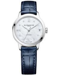 Baume & Mercier Classima Watch - Blau