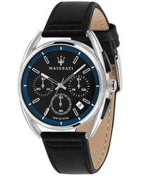 Maserati Trimarano Watch - Schwarz