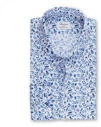 Stenströms Slimline Shirt - Blau