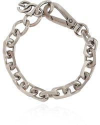 Dolce & Gabbana Bracelet With Logo - Grijs