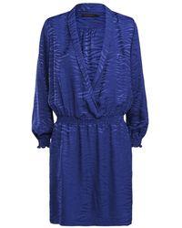 summum woman Vestido - Azul