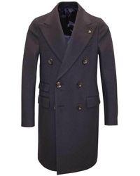 Gabriele Pasini Double-breasted Coat - Blauw