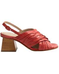 Lorenzo Masiero Sandals - Rouge