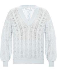 Agnona Cashmere sweater - Blu