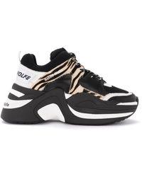 Naked Wolfe Track Sneaker - Zwart