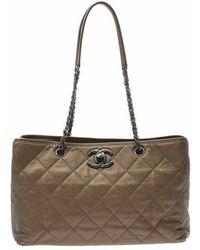 Chanel Vintage Tweedehands Matrastas - Geel