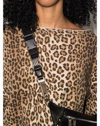 R13 Leopard print sweatshirt - Marron