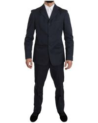 Romeo Gigli Solid Suit - Bleu