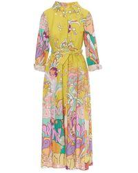 Motel Dress S21A457 - Gelb