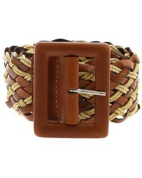 Orciani Twine Belt - Marron