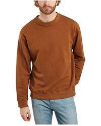 NN07 Jerome Cotton And Lyocell Sweatshirt - Bruin