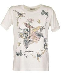 RED Valentino T-shirt With Floral Print